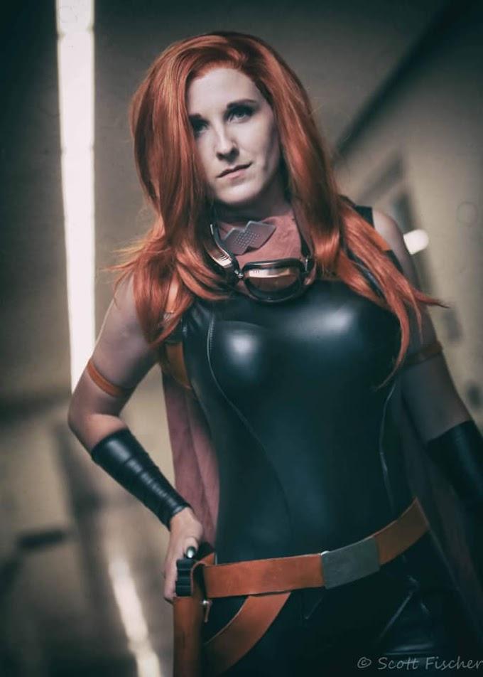 Isley con su cosplay de Mara Jade