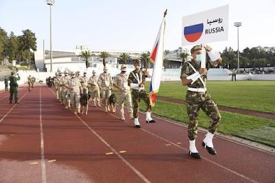 """إنطلاق فعاليات المسابقة العسكرية الدولية السينوتقنية   """"الصديق الوفي"""""""