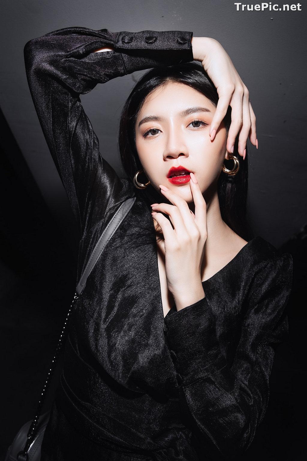 Image Thailand Model - Sasi Ngiunwan - Black For SiamNight - TruePic.net - Picture-9