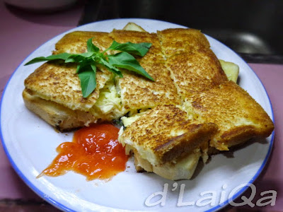 Roti Lapis Ayam Keju ala Rika (2)