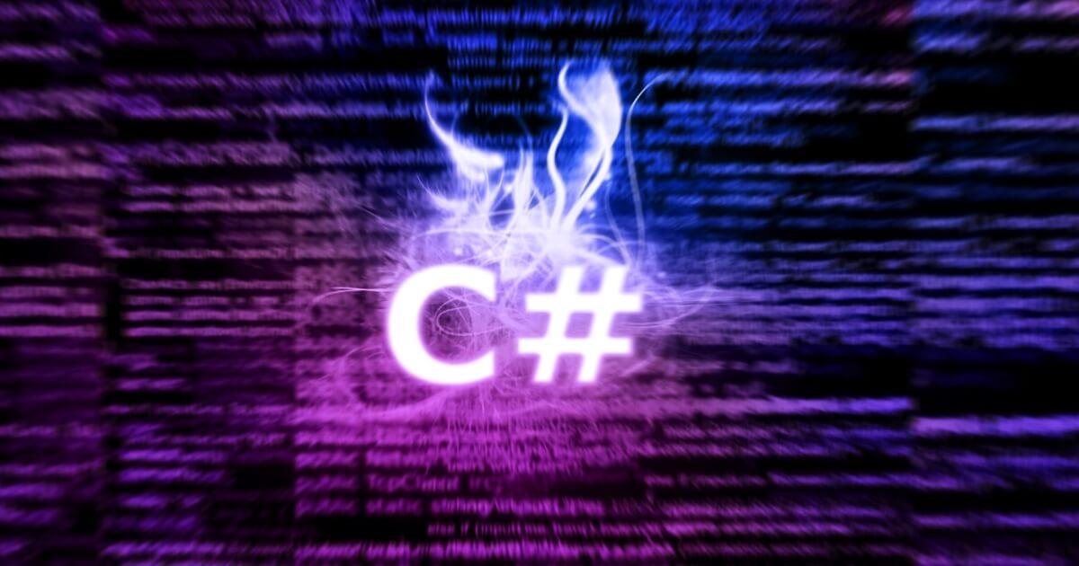 تعلم لغة #C