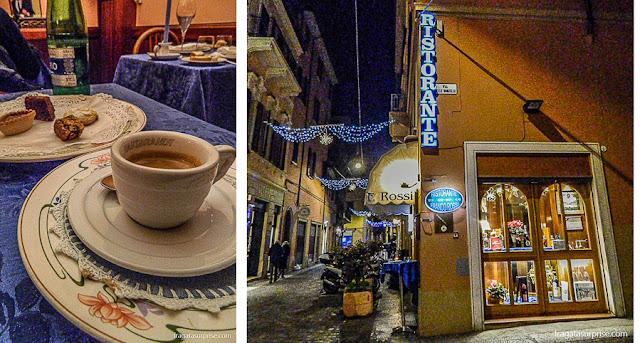 Restaurante Franco Rossi, Bolonha