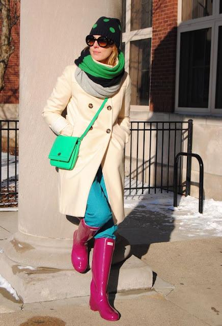 botas para lluvia y frio
