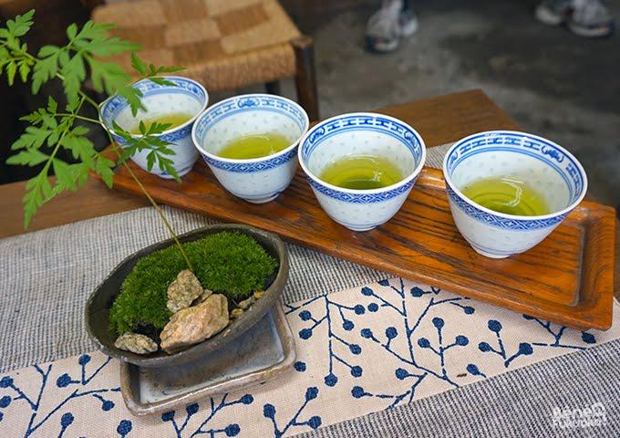Thé de Yame (Yame-cha), Kurogi-machi, Fukuoka