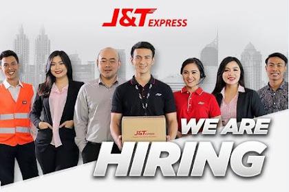 Lowongan J&T Express Pekanbaru Juni 2019