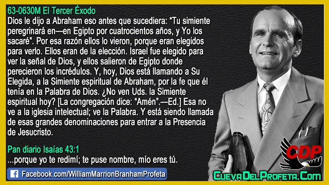Dios está llamando a Su Elegida - William Branham en Español