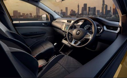 Renault Triber 2019 Front Cabin View
