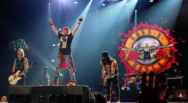 Guns N' Roses - Staples Center, Los Angeles, Califórnia 24/11/2017