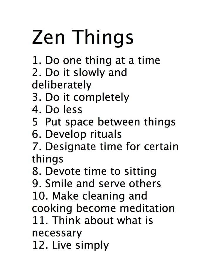 zen quotes about life - photo #5