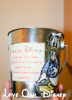 Disney inspired chore bucket is a great way to offer extra chores in exchange for money