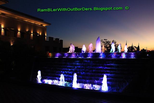 Fountain, Radisson Blu Hotel, Cebu, Philippines