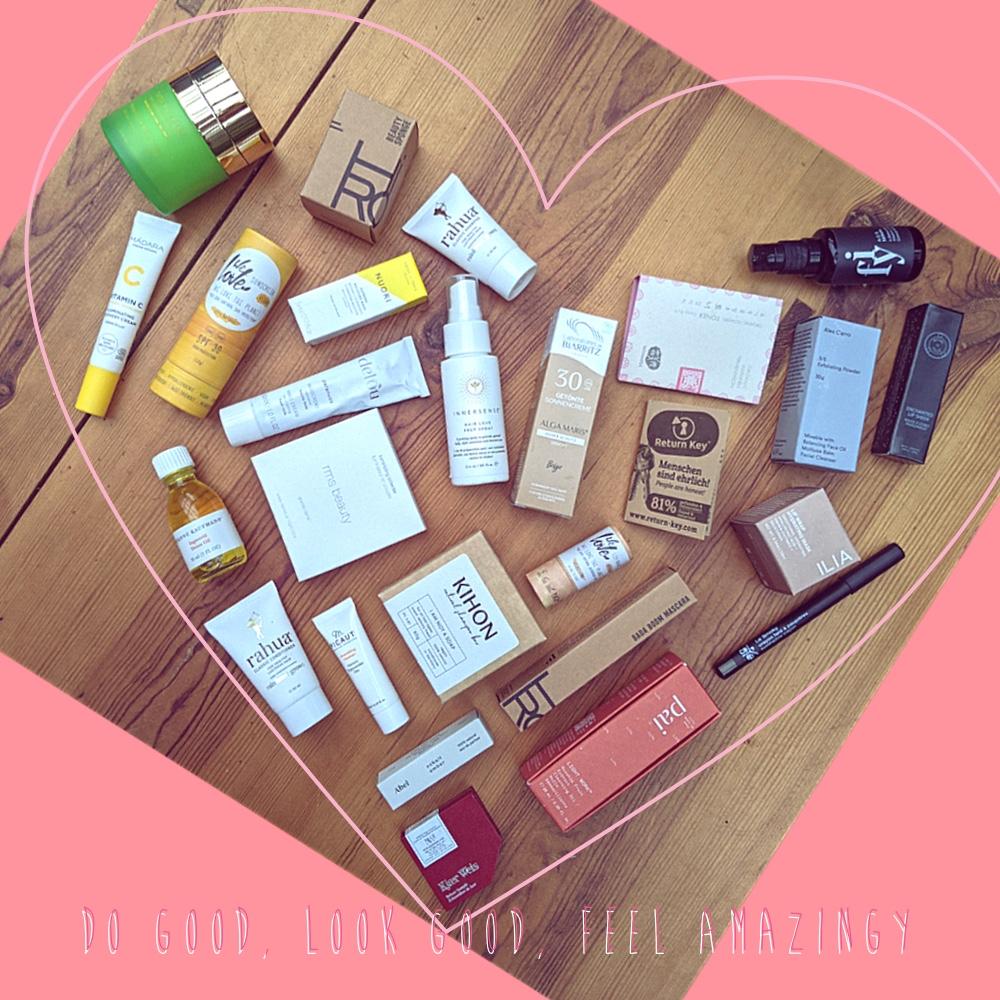 DO GOOD, LOOK GOOD, FEEL AMAZINGY - die Beauty Box No.III