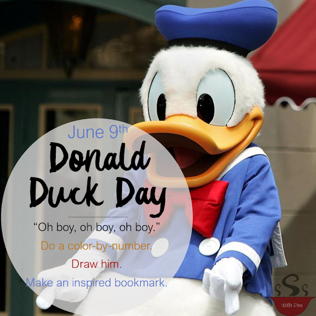 Get artsy with Donald on June 9, 2020.