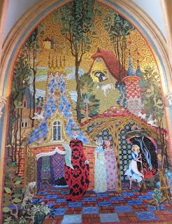 Magic Kingdom Inside Cinderellas castle