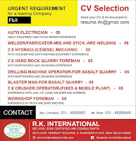 FIJI Requirement for Leading Company