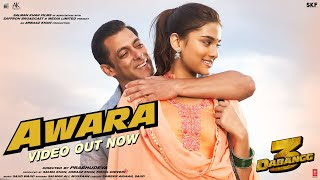 Awara Lyrics In Hindi - Dabangg 3