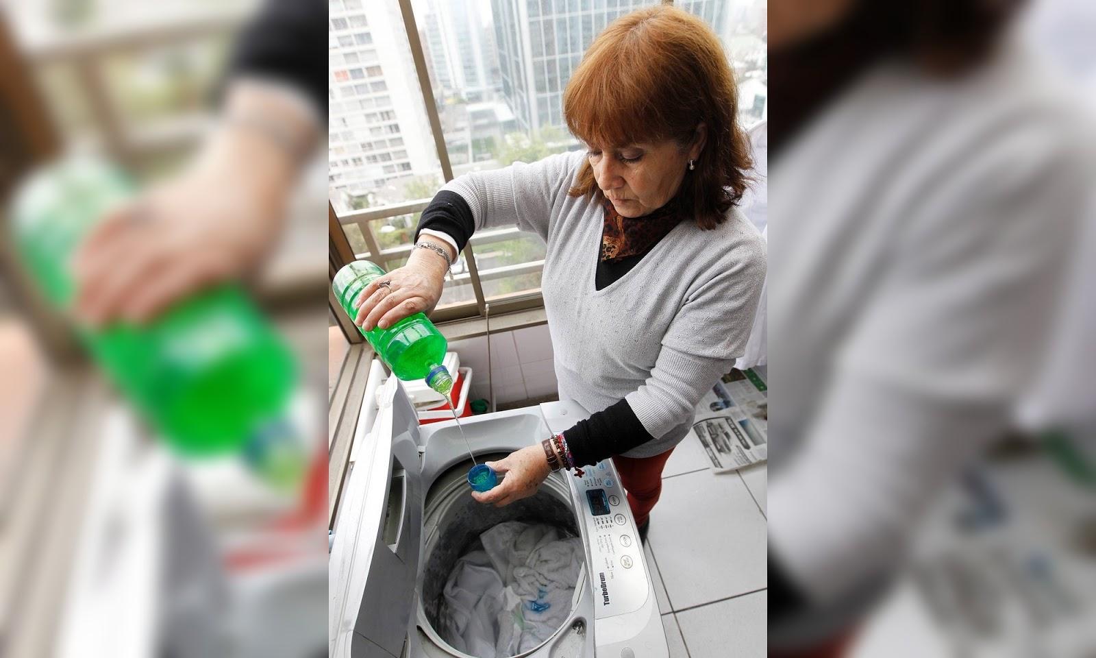 Lavar la ropa en el depto sale mucho más barato que usar la máquina del edificio