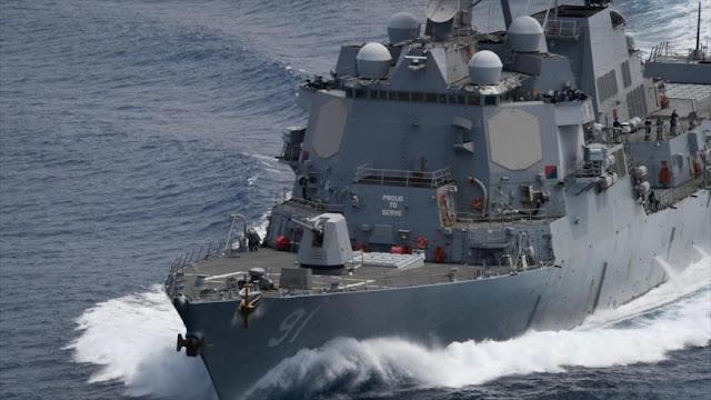 EEUU desafía a Venezuela y realiza ejercicio militar en el Caribe