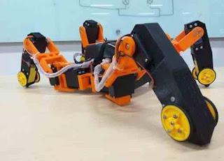 Mahasiswa Indonesia Berhasil Ciptakan Robot Pendeteksi Gempa