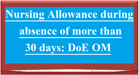 nursing-allowance-during-absence-of-more-than-30-days
