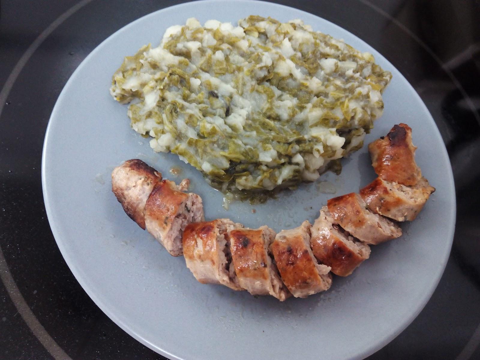 Cocina con rachel acelgas con patatas y butifarra de setas - Racholas cocina ...