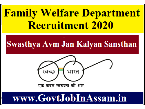 Family Welfare Department Recruitment 2020 :: Apply Online for 13,443 Vacancy, 10th Pass