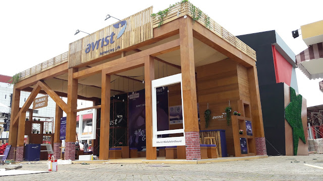 Kontraktor Pameran Booth Avrist at Java Jazz 2017