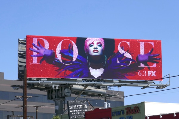 Pose TV billboard