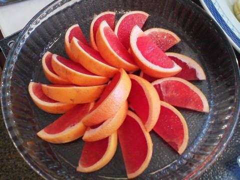 ビュッフェコーナー(グレープフルーツ) サザンクロス