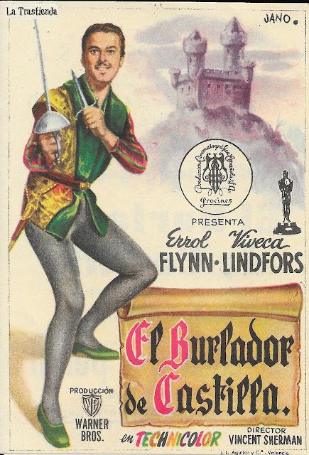 El Burlador de Castilla - Programa de Cine - Errol Flynn - Viveca Lindfors
