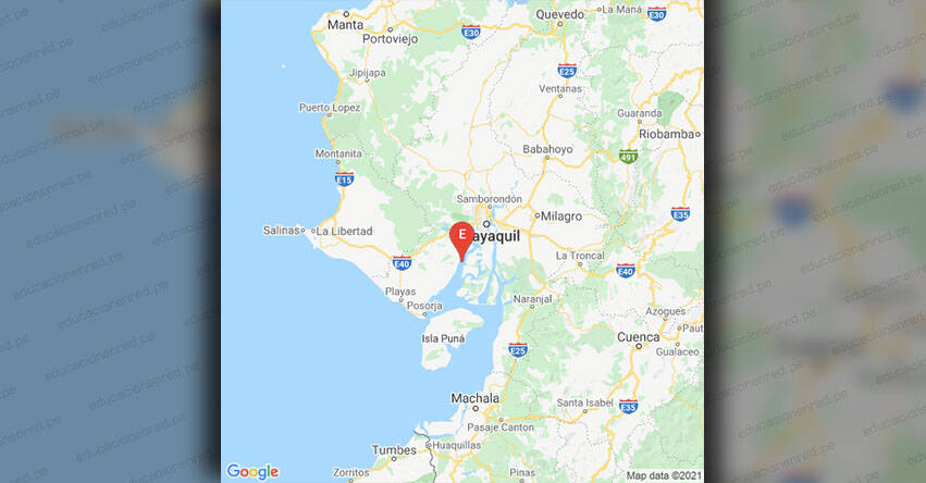 Temblor en Ecuador de Magnitud 4.37 (Hoy Miércoles 6 Octubre 2021)Sismo - Epicentro - Guayaquil - Guayas - IGEPN