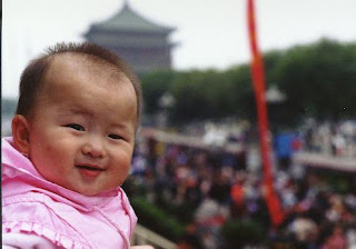 Image: China-Xian-Oct. 1 baby #3, by Carol Schaffer, on Flickr