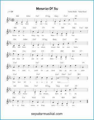 memories of you lagu jazz standar