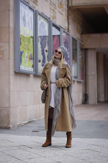 Zimowy płaszcz Vintage