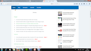 sitemap blogspot