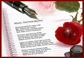 surat cinta romantis untuk kakak kelas