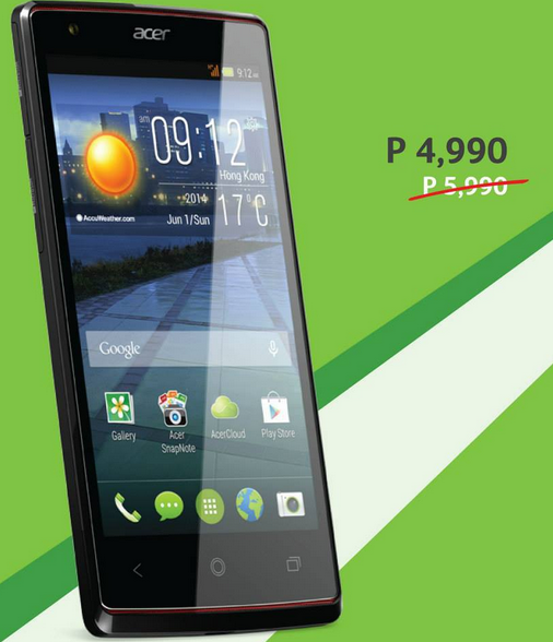 ffb640f58e8 Acer Smartphones Price Drop Promo (Price and Specs) - Gadget Corner PH