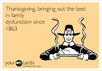 Dysfunctional Thanksgiving ecard