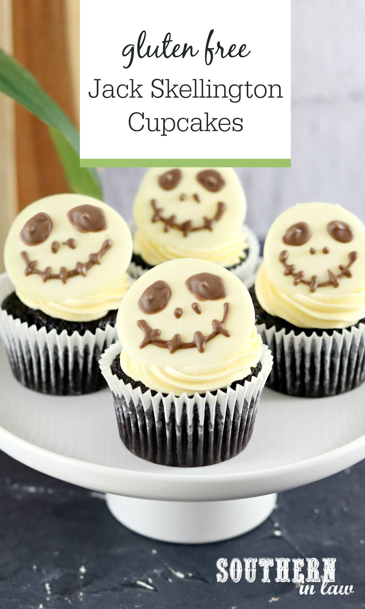 Easy Jack Skellington Cupcakes Recipe