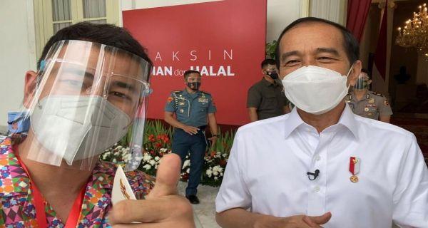 Raffi Ahmad Ikut Pesta Usai Divaksin di Istana, Polisi: Kita Akan Tegur
