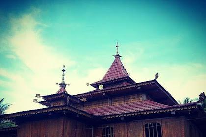 Mesjid Jami Desa Pulau Payung Kampar Riau