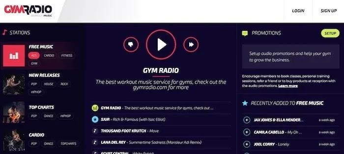 محطات راديو ويب مفيدة Gymradio