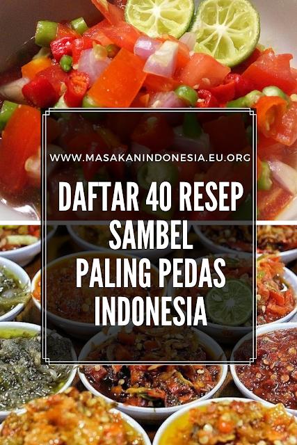 Resep Sambal Pedas Tradisional Indonesia