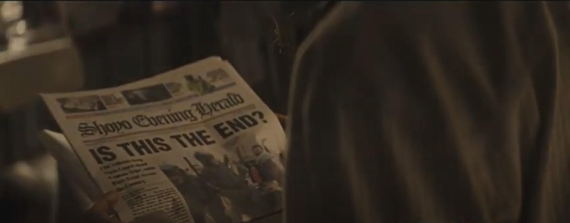 Газета конец света Противостояние