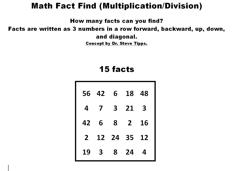 Math Facts Fluency Blog Math Fact Puzzles