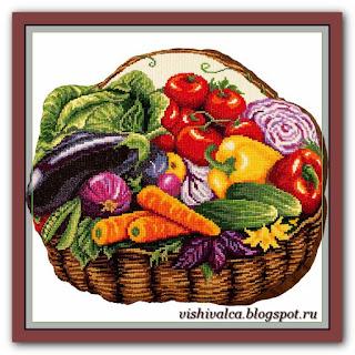 """ПД-7012 """"Корзинка с овощами"""" Панна"""