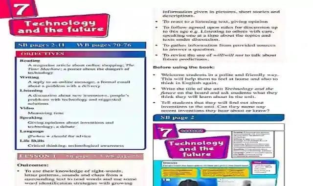 كتاب دليل المعلم فى اللغة الانجليزية للصف الثاني الاعدادى الترم الثاني 2021