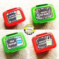 Planet Happy Smiles Snap Containers