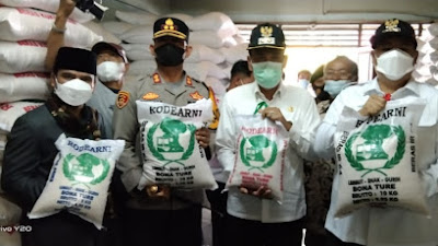 Stock Beras di Kabupaten Samosir Cukup hingga Jelang Lebaran