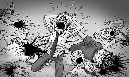 Silent Horror chap 76: Vùng chết chóc